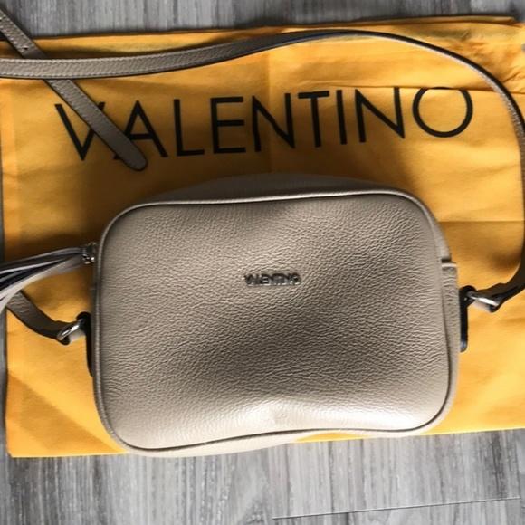 VALENTINO by Mario Valentino Satchel M Taupe